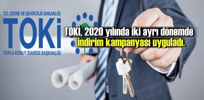 TOKİ'nin 2020 yılı kampanyasından 33 bin kişi yararlandı