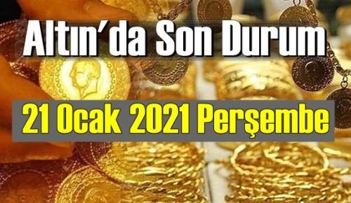 Altın fiyatları 21 Ocak 2021 Perşembe, Tam,çeyrek ve gram altın fiyatları nedir? bugün 18 Ocak Altın fiyatları!