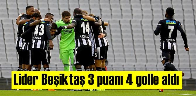 Süper Lig'in 20. haftasında Beşiktaş liderliğini sürdürdü