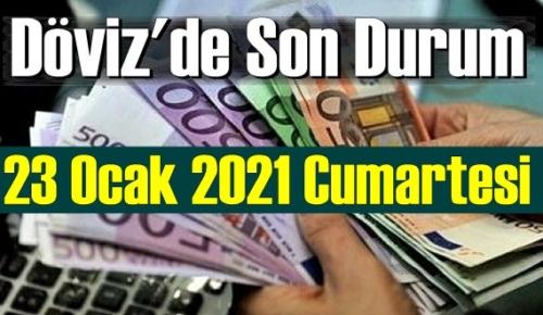 23 Ocak 2021 Cumartesi Ekonomi'de Döviz piyasası, Döviz güne nasıl başladı