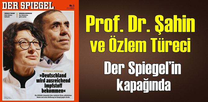 Korona aşısının mucitleri Prof. Dr. Şahin ve Özlem Türeci Der Spiegel'in kapağında