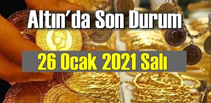 Altın fiyatları 26 Ocak 2021 Salı, Tam,çeyrek ve gram altın fiyatları nedir? bugün 26 Ocak Altın fiyatları!