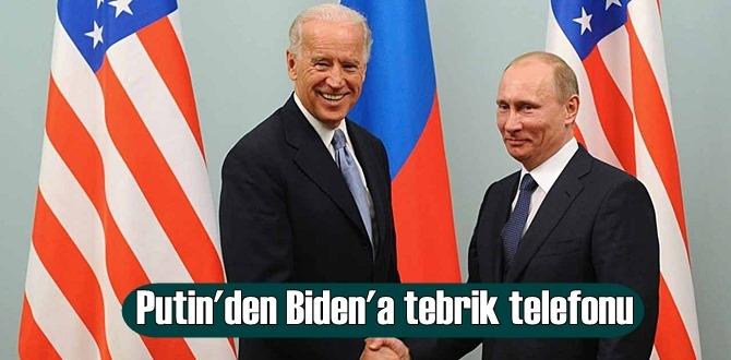 Kremlin'den açıklama: Putin, Biden'i tebrik etti