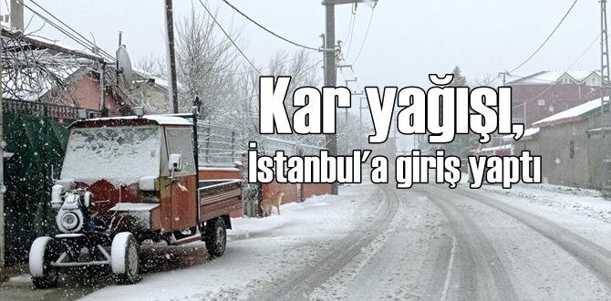 Balkanlar'dan gelen soğuk hava ile Kar yağışı Batında yurda girdi!