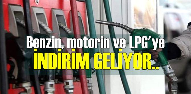 İyi haber: Benzin, motorin ve LPG'ye büyük indirim geliyor!