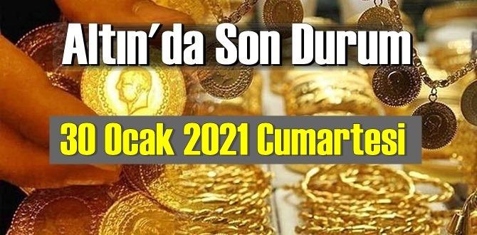 Altın fiyatları 30 Ocak 2021 Cumartesi, Tam,çeyrek ve gram altın fiyatları nedir? bugün 30 Ocak Altın fiyatları!