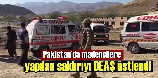 Madencilere yapılan saldırıyı, DEAŞ Örgütü Biz yaptık dedi!
