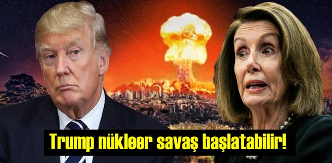 Yenilgiyi hazmedemeyip köşeye sıkışan Trump nükleer savaş başlatabilir!