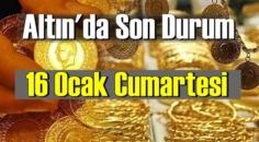 Altın fiyatları 16 Ocak Cumartesi, Tam,çeyrek ve gram altın fiyatları nedir? Altın fiyatları 15 ocak bugün!