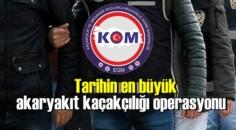 Tarihin en büyük akaryakıt kaçakçılığı operasyonu, 220 kişi gözaltına alındı!