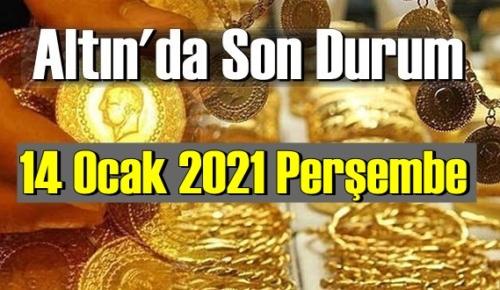 Altın fiyatları 14 Ocak Perşembe, Tam,çeyrek ve gram altın fiyatları nedir? Altın fiyatları 13 ocak bugün!