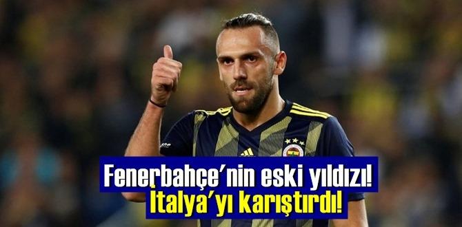 Fenerbahçe'nin eski yıldızı Vedat Muriç, İtalyan kulübünü karıştırdı!