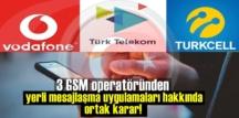 3 GSM operatöründen yerli mesajlaşma uygulamaları hakkında ortak karar!