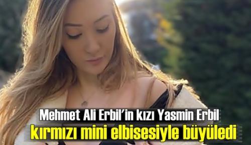 Mehmet Ali Erbil'in kızı Yasmin Erbil'in cesur Pozu takipçileri'nden tam Not aldı !