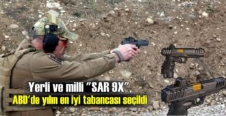 """Türkiye'de üretilen """"SAR 9X"""", ABD'de 2020 yılının en iyi tabancası seçildi"""