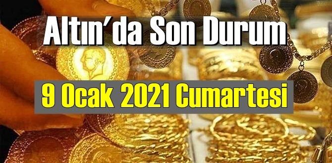 9 Ocak 2021 Cumartesi Ekonomi'de Altın piyasası, Altın güne nasıl başlıyor