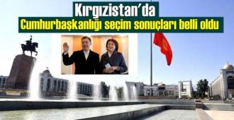Kırgızistan'da Cumhurbaşkanlığı seçim sonuçları belli oldu, zafer Caparov'un