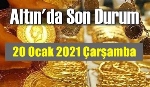 Altın fiyatları 20 Ocak 2021 Çarşamba, Tam,çeyrek ve gram altın fiyatları nedir? bugün 18 Ocak Altın fiyatları !