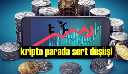 Yeni bilinen yatırım araçlarından kripto parada sert düşüş!