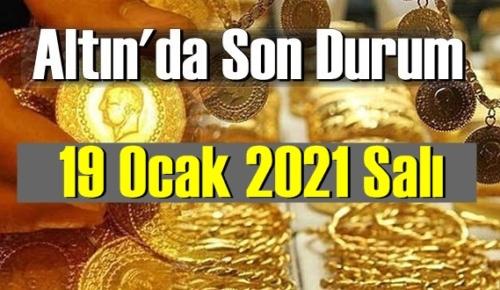 Altın fiyatları 19 Ocak 2021 Salı, Tam,çeyrek ve gram altın fiyatları nedir? bugün 19 Ocak Altın fiyatları !