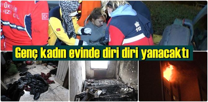 Ataşehir'de dehşet evi! Duvarlara beni kurtarın yazdı