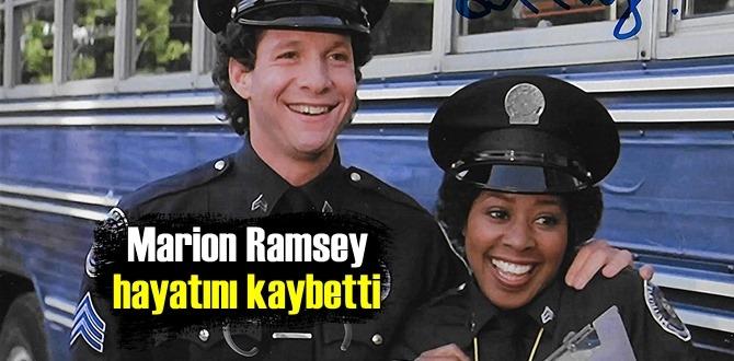 Polis Akademisi filminin sevilen yıldızı Marion Ramsey yaşamını yitirdi