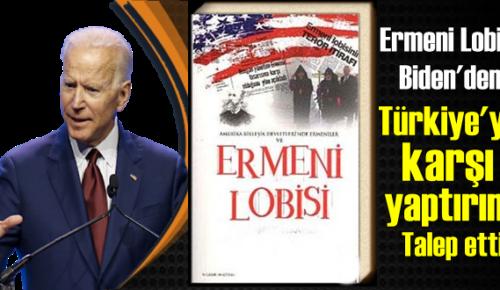 Ermeni Lobisi, Biden'den Türkiye'ye karşı yaptırım talep etti