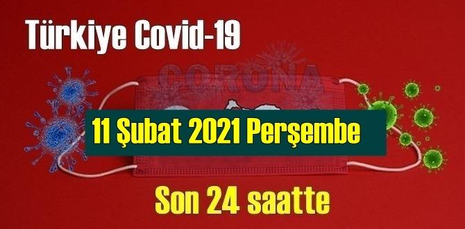 11 Şubat 2021 Perşembe Koronavirüs verileri açıklandı, bugün 94 Can kaybı yaşandı!