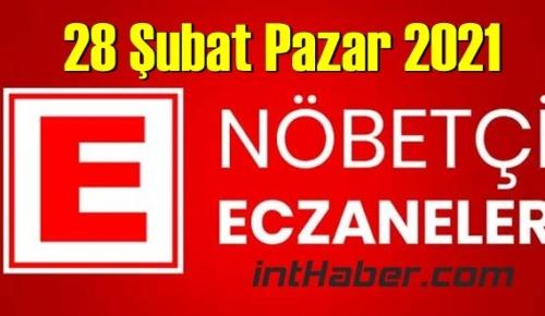 28 Şubat Pazar 2021/ Nöbetçi Eczane nerede, size en yakın Eczaneler listesi
