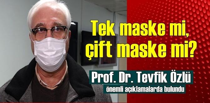 Tek maske mi, çift maske mi? Bilim Kurulu üyesinden önemli uyarı!
