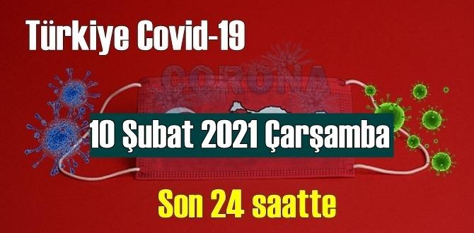 10 Şubat 2021 Çarşamba Koronavirüs verileri açıklandı,bugün 98 Can kaybı yaşandı!