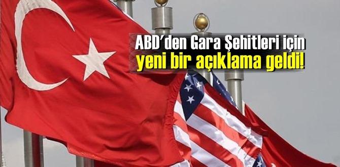 ABD'den Gara Şehitleri için yeni bir açıklama geldi! Blinken, 13 Türk vatandaşı için taziyelerini iletti