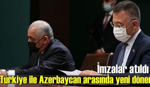 İmzalar atıldı, Türkiye ile Azerbaycan arasında yeni dönem