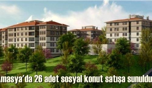 TOKİ Amasya Hamamözü projesinde yeni satış dönemi başladı