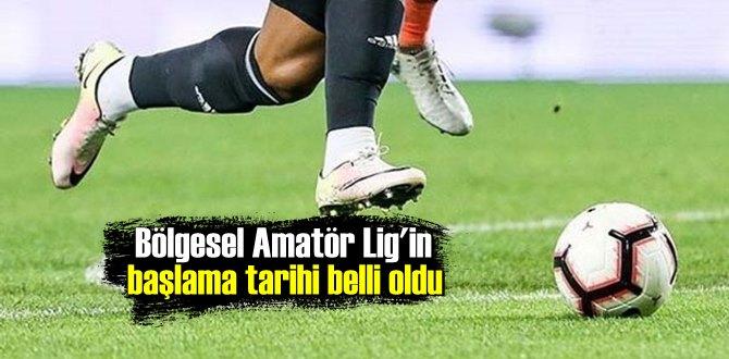 Bakan Kasapoğlu: Bölgesel Amatör Lig 17 Nisan Cumartesi başlayacak!