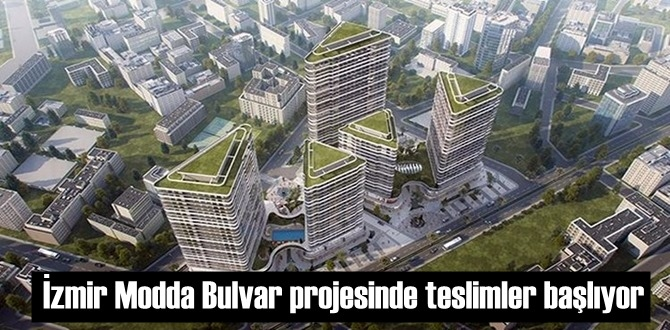 İzmir Modda Bulvar projesinde teslimler başlıyor
