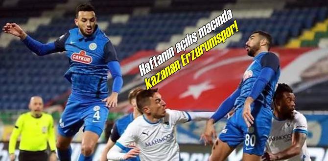 Süper Lig'in 25. Haftanın açılış maçında, Çaykur Rizespor Dadaşlara yenildi!