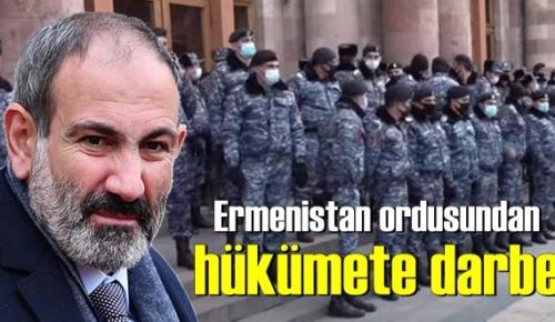 Son Dakika,Ermenistan'da hükümete darbe! Nikol Paşinyan'ın istifası istendi