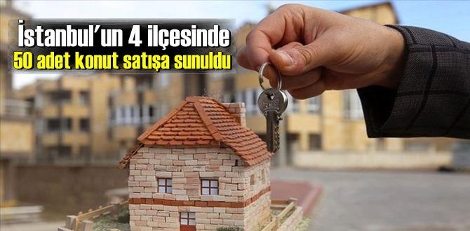 Küçükçekmece, Fatih, Bakırköy ve Beyoğlu ilçelerinde yer alan konutlar ihaleyle satılacak