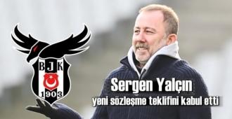 Başarılı teknik direktör Sergen Yalçın yeni sözleşmeye Evet dedi!