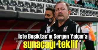 Beşiktaş'ın Sergen Yalçın'a getireceği teklifin detayları belli oldu!