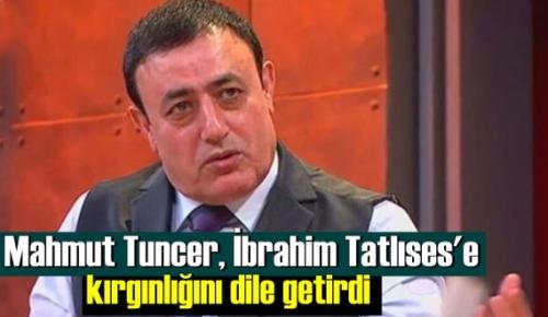 Mahmut Tuncer, İbrahim Tatlıses'e kırgınlığını dile getirdi