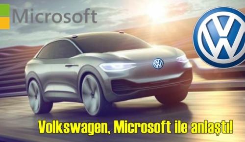 Gelecek için Volkswagen, Microsoft ile anlaştı!