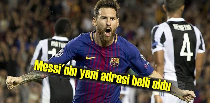 Brezilyalı futbolcu Lionel Messi'nin yeni adresi PSG!