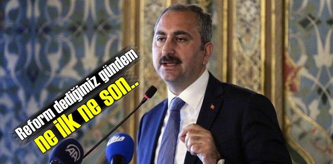 Bakan Abdulhamit Gül, Yargı reformunda son durumu paylaştı! Reformlar ne ilk ne son..