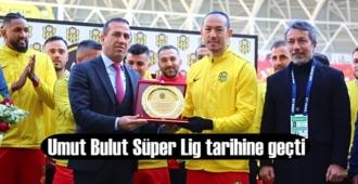 Umut Bulut Süper Lige adını yazdırıp tarihi geçti