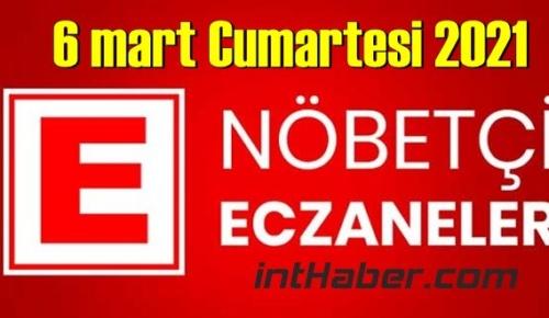 6 mart Cumartesi 2021/ Nöbetçi Eczane nerede, size en yakın Eczaneler listesi