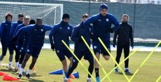 BB Erzurumspor da Göztepe maçı hazırlıkları devam ediyor