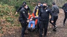 Belgrad Ormanı'nda hareketli anlar! Önce silah buldu, sonra kendisini vurdu
