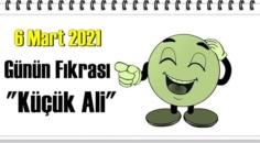 Günün Komik Fıkrası – Küçük Ali/ 6 Mart 2021